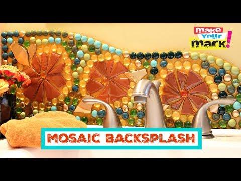 Mosaic Backsplash DIY