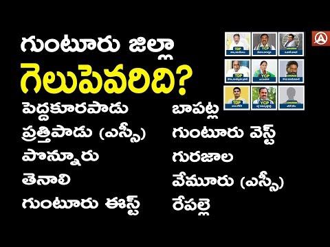 Guntur District All Assembly Constituency Candidates: Who Are The 2019 MLAs? || Namaste Telugu