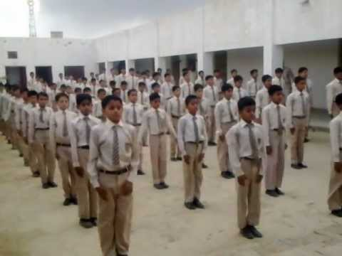 Pt Exercise During Embly Col Muhammad Sher School Mp4