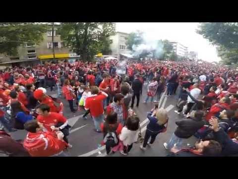 Dnipro FC - Sevilla FC - Final UEFA 2015 - Varsovia  / GoPro