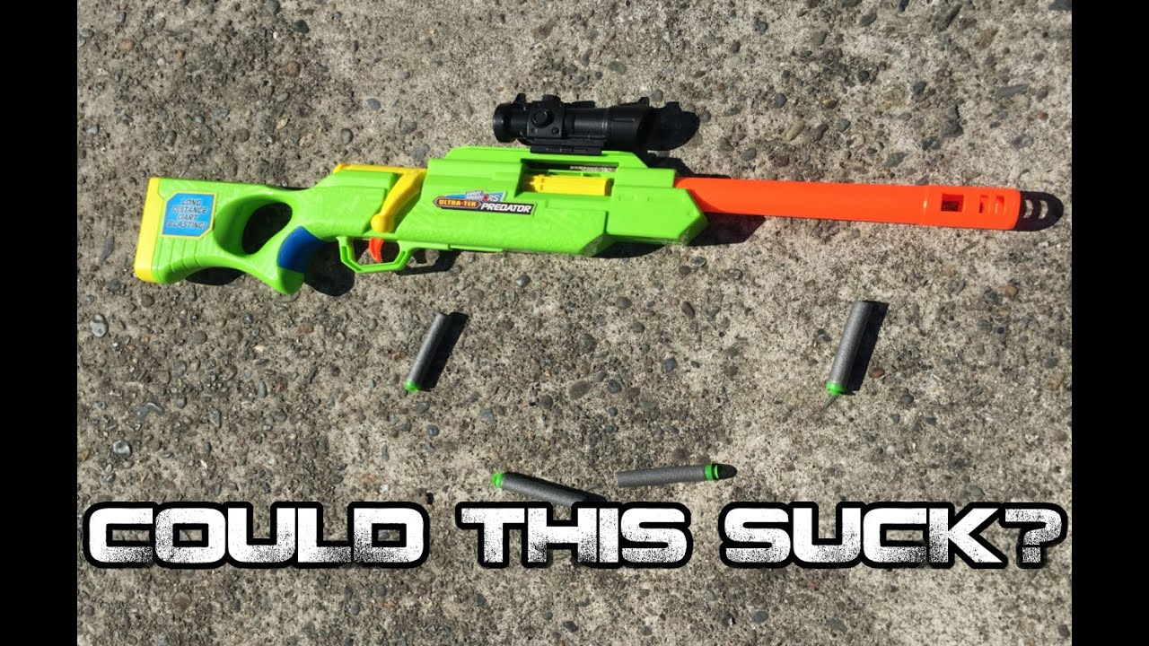 Could This Suck Buzzbee Ultra Tek Predator Bolt Action Rifle Review Walcom S7 Youtube