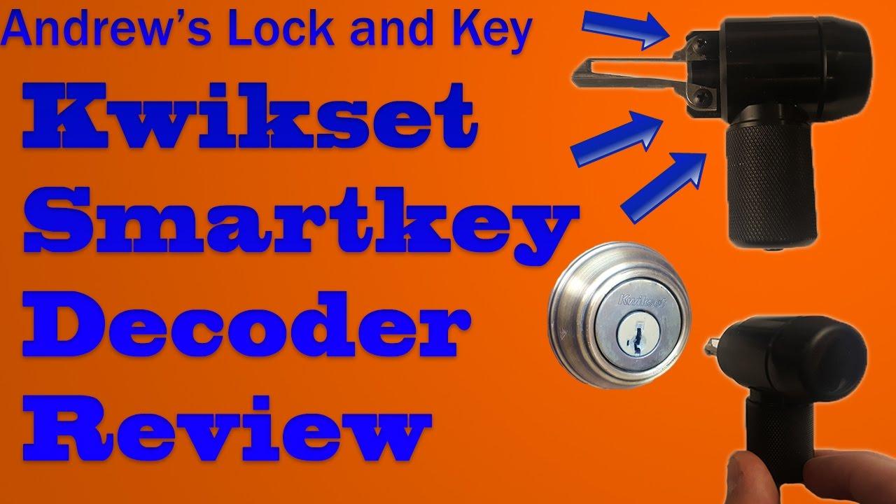 Kwikset Smartkey Decoder Tool Youtube