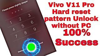 Vivo pattern lock reset without pc