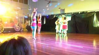 Spin City Dance Bollywood Salsa performance at DouDouLe Latin Dance Camp 2013