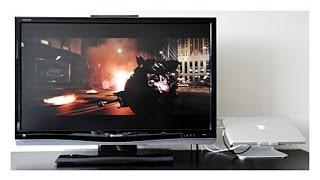 Подключаем ноутбук к телевизору если нет HDMI(Как подключить ноутбук к телевизору если нет HDMI выхода на ноутбуке., 2014-03-12T15:35:28.000Z)