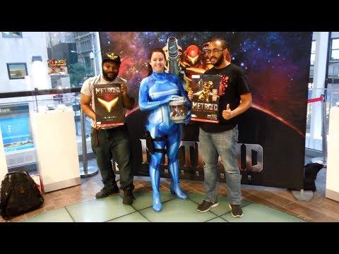 Metroid: Samus Returns Launch Event at Nintendo NY
