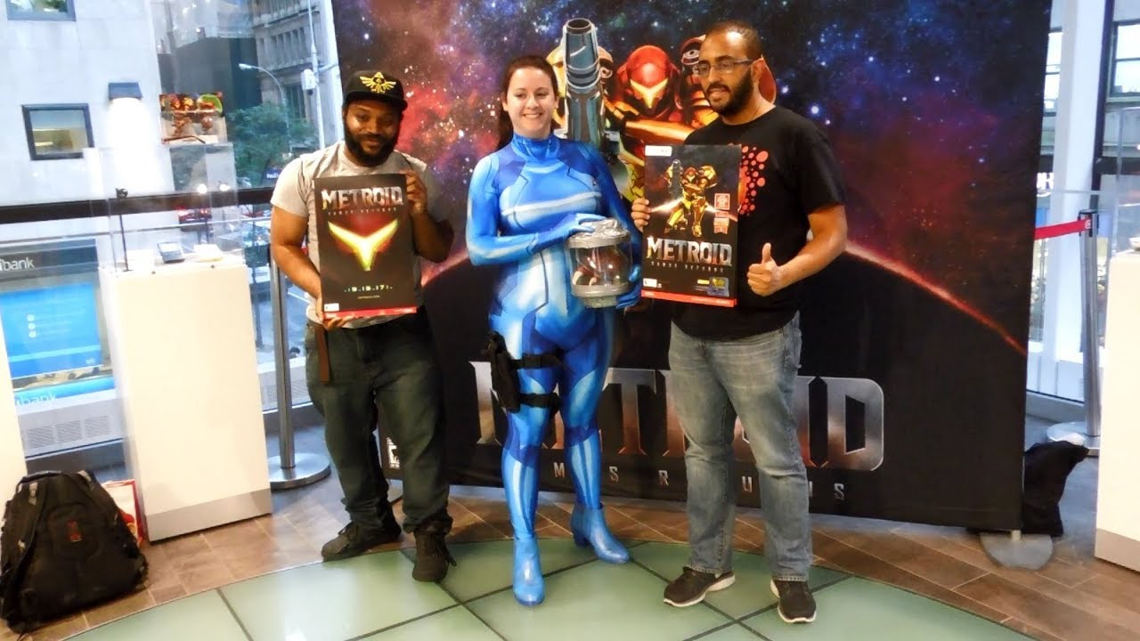 Metroid: Samus Returns Launch Event at Nintendo NY