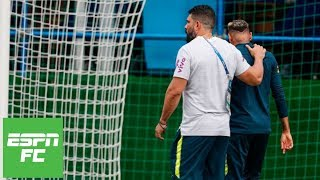 Is Neymar playing mind games with referees by limping out of Brazil training? | ESPN FC