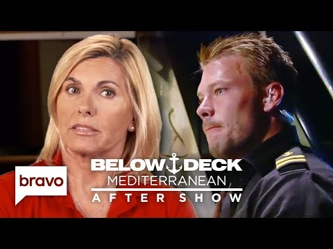 Captain Sandy Says João Wouldn't Question Her If She Was A Man | Below Deck Med After Show Pt2 S4E16
