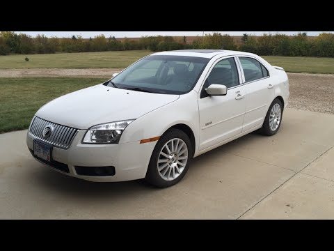 2008 Mercury Milan Premier AWD Startup and Review