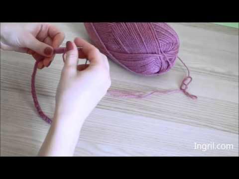 Megztinio mezgimas / Sweater knitting by Ingril.com