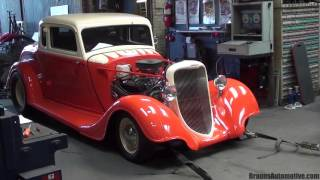 1934 Dodge Coupe dyno run