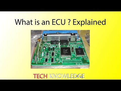 What is an ECU(Electronic Control Unit)? Explained