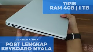 Unboxing Laptop HP 14CM0095AU • Laptop Murah Meriah, Spek Wah | Keyboardnya Nyala