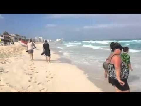 Beach Palace, Cancun -- post riptide survival