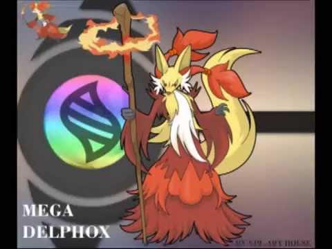 Mega Delphox by Miracle-Fox on DeviantArt