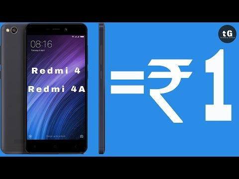 MI 1 ₹ FLASH SALE | How to Buy Redmi 4 for Free | Xiaomi Flash Sale| Xiaomi 1 Es Sale