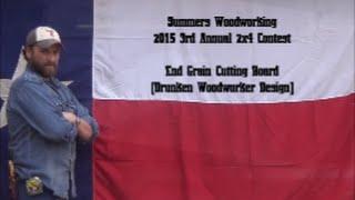 2015 2x4 Contest End Grain Cutting Board Drunken Woodworker Design