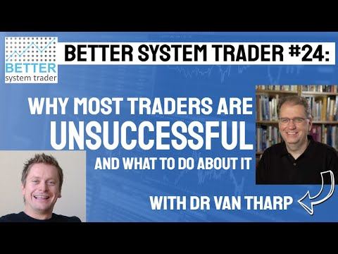 024: Trading coach Dr Van Tharp discusses beliefs in trading, why traders fail and market types