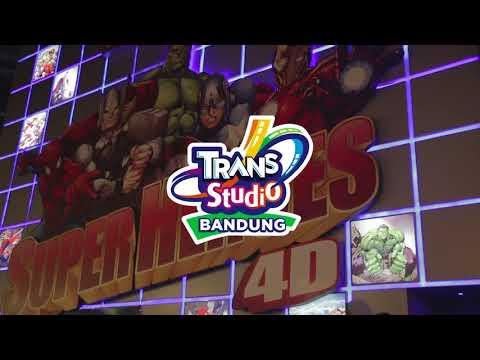 WAHANA SUPERHEROES 4D   TRANS STUDIO BANDUNG