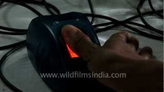 Biometric screening of Indian army candidates!