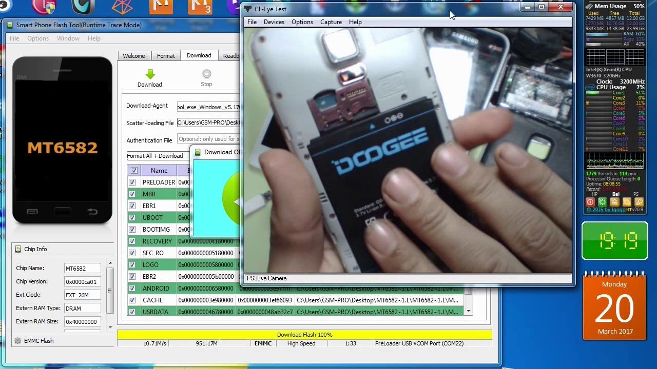 doogee voyager2 dg310 firmware flash rom