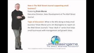 Jim Blasingame with Brian Moran February 2, 2012