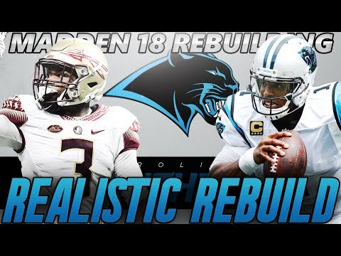 Madden 18 Connected Franchise | Carolina Panthers Realistic Rebuild | Solid Well Rounded Draft Class