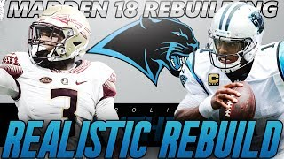 Madden 18 Connected Franchise | Carolina Panthers Realistic Rebuild | Solid Well Rounded Draft Class 2017 Video