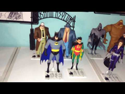DC Collectibles Batman The Animated Series Action Figure Collection Tour