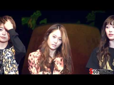 111006 [Kryber Moment] f(x) Talking- Krystal fancam