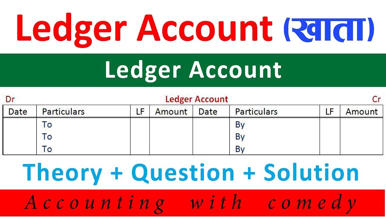 Ledger Account In Nepali Journal Entry To Ledger Financial Account Youtube