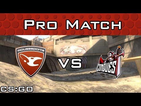 mousesports vs Conquest de_overpass from CEVO Season 8 Finals
