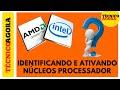 Identificando e ativando núcleos do processador no Windows 7/8/8.1/10.