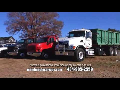M and M Service and Salvage Yard Inc Ruckersville VA 22968 800-533-4099