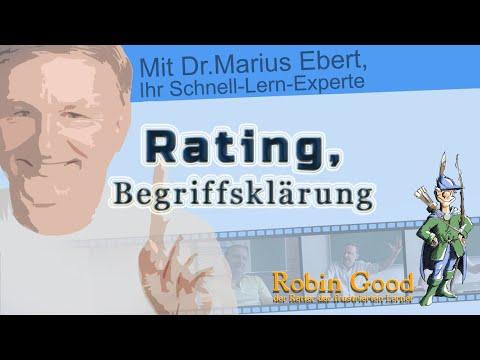 Rating, Begriffsklärung