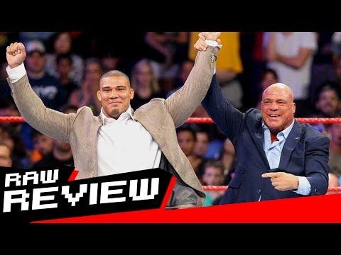 REVIEW-A-RAW 7/17/17: Jason Jordan is Kurt Angle's son, Braun Strowman destroys Reigns & Joe