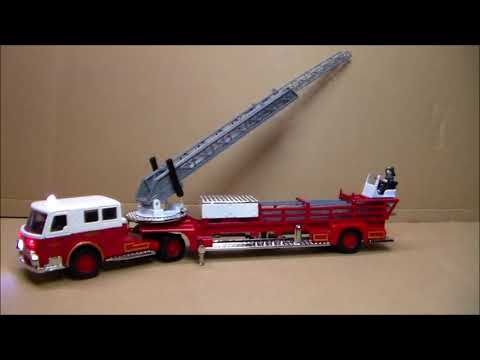 Custom Lighted American Lafrance Aerial Ladder Rochester