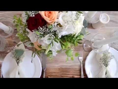 Как украсить стол цветами. Композиция из живых цветов | ArtHolidays