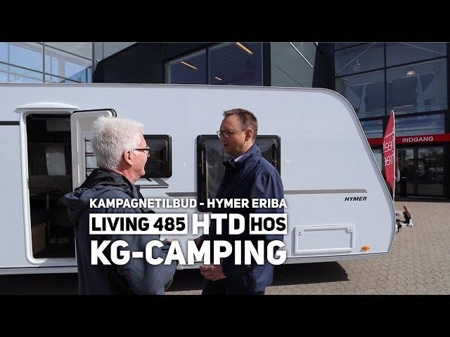 Hymer Eriba Living 485 HTD hos KG-Camping - Kampagne tilbud