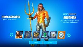 *NEW* AQUAMAN EVENT Challenges Week 5 Reward (Fortnite Battle Royale)