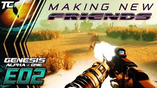 Making Friends With Aliens  Genesis Alpha One Gamplay  E02