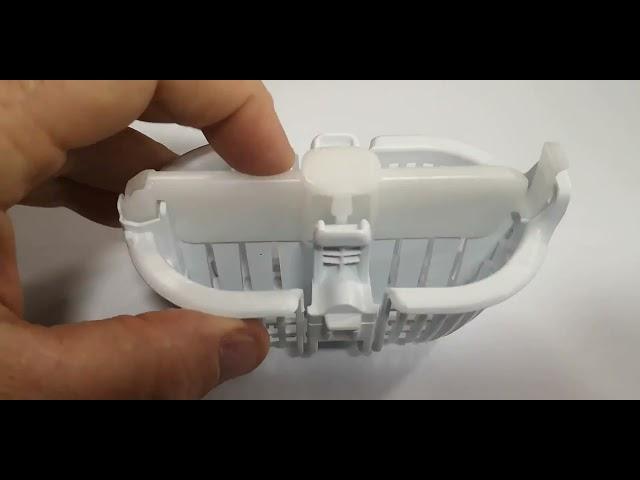 Aeg/Electrolux/Zanussi mosógép belső szűrő  szu051