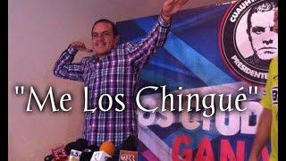 """""""Me Los Chingué"""" .. Cuauhtémoc Blanco se declara ganador en Cuernavaca"""