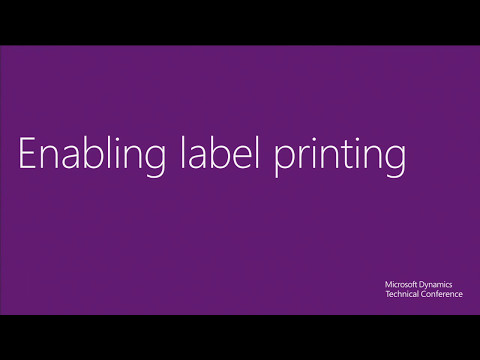 Labels in the new Microsoft Dynamics AX 2012 R3 warehouse ma