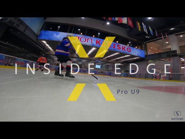Power Skating Practise 🏒 | U9 | Inside Edge