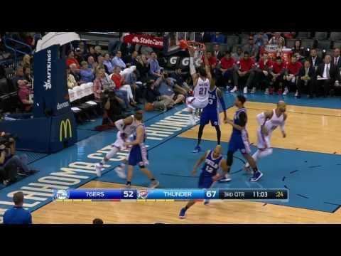 Philadelphia 76ers at Oklahoma City Thunder - March 22, 2017