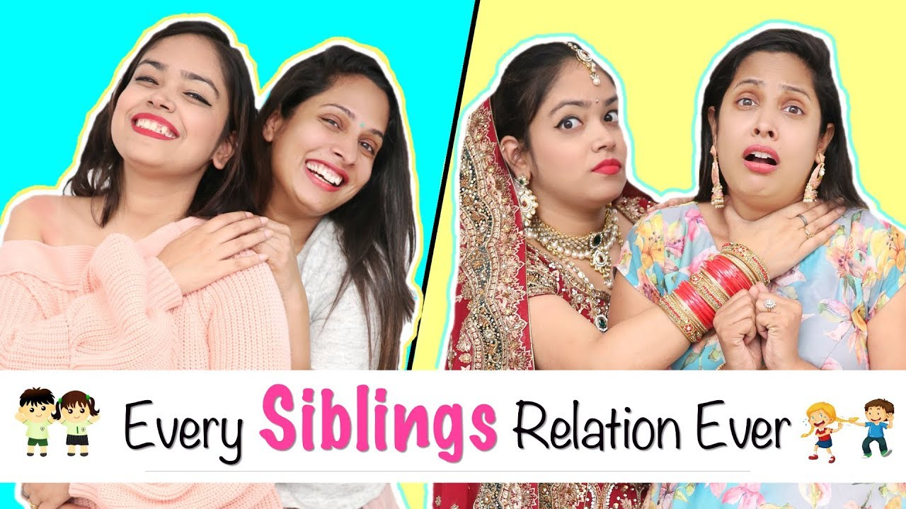 Every SIBLINGS Relation Ever - Types of BHAI-BEHAN   #Fun #Sketch #Roleplay  #ShrutiArjunAnand