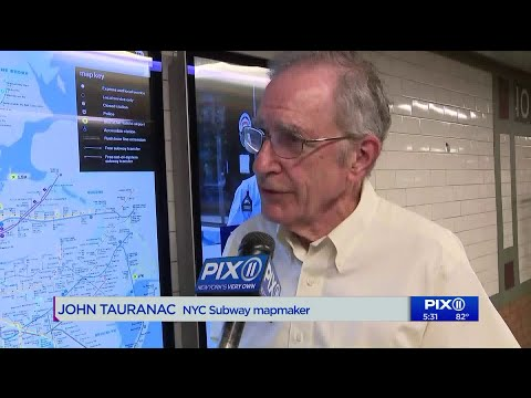 NYC Subway Map Creator Says Version In Stations Is Inconsistent, Illegible And Missing Vital Informa