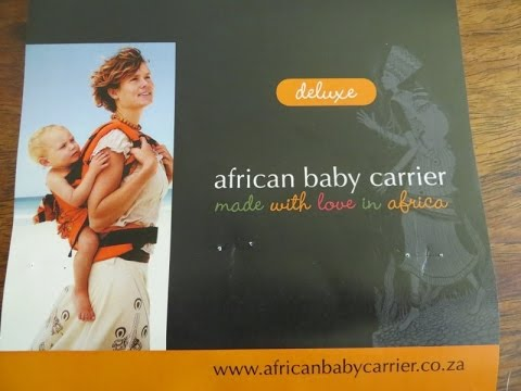 African Baby Carrier Deluxe Review